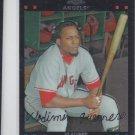 Vladimir Guerrero Trading Card Single 2007 Topps Chrome #115 Angels