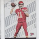 Alex Smith Football Trading Card 2015 Panini Clear Vision #19 Chiefs