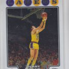 Jerry West Trading Card Single 2008-09 Topps Chrome #174 Lakers