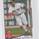 Xander Bogearts RC Trading Card Single 2014 Topps Mini #133 Red Sox