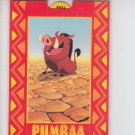Adult Simba Popup Chase Card Skybox Lion King #P10 QTY *ED