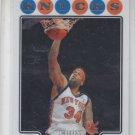 Eddy Curry Trading Card Single 2008-09 Topps Chrome #154 Knicks