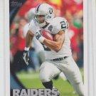 Darren McFadden Trading Card Single 2010 Topps #358 Raiders
