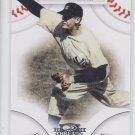 Don Larsen Trading Card Single 2008 Donruss Threads #34 Yankees