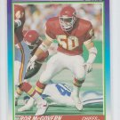 Rob McGovern RC Trading Card Single 1990 Score #496 Chiefs