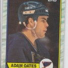 Adam Oates Trading Card Single 1989-90 Topps #185 Penguins