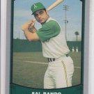 Sal Bando Trading Card Single 1988 Pacific Legends #99 Atheltics NMT