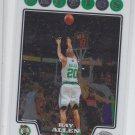 Ray Allen Trading Card Single 2008-09 Topps Chrome #20 Celtics