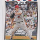 John Lackey Trading Card Single 2008 Topps #95 Angels