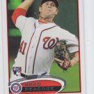 Brad Peacock Trading Card Single 2012 Topps RC #275 Nationals