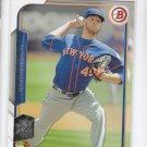 Zach Wheeler Trading Card Single 2015 Bowman #14 Mets