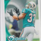 Jeremiah Bell Trading Card Single 2010 Topps #86 Dolphins