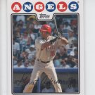 Garret Anderson Trading Card Single 2008 Topps #611 Angels