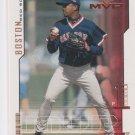 Pedro Martinez Trading Card Single 2000 UD MVP #45 Red Sox