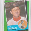 Stan Musial Turn Back The Clock Trading Card Single 1988 Topps #665 Cardinals
