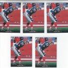 Matt Darby Trading Card Lot of (5) 1995 Upper Deck #269 Bills