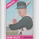 Gene Alley Trading Card Single 1966 Topps #336 Pirates EXMT *BILL