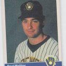Paul Molitor Trading Card Single 1984 Fleer #207 Brewers *BILL
