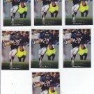 Mark Carrier Trading Card Lot of (7) 1995 Upper Deck #233 Bears