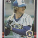 Robin Yount Trading Card Single 1985 Donruss #48 Brewers *BILL