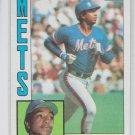 Hubie Brooks Trading Card Single 1985 Topps #268 Mets NMMT