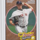 Jon Lester Brown Parallel 2008 Upper Deck Heroes #92 Red Sox 076/149