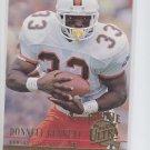 Donnell Bennett RC Trading Card Single 1994 Fleer Ultra #138 Chiefs