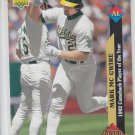 Mark McGwire Trading Card Single 1993 Upper Deck #493 Athletics