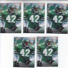 Ronnie Lott Trading Card Lot of (10) 1995 Upper Deck #273 Jets