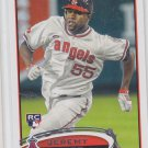 Jeremy Moore Trading Card Single 2012 Topps RC #277 Angels