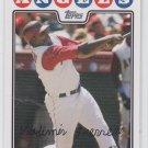 Vladimir Guerrero Trading Card Single 2008 Topps #90 Angels
