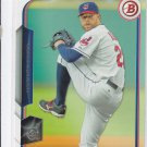 Corey Kluber Trading Card Single 2015 Bowman #80 Indians