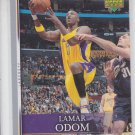Lamar Odom Trading Card Single 2007-08 Upper Deck First Edition #44 Lakers