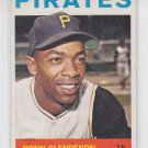 Donn Clendenon Trading Card 1964 Topps #163 Pirates NMT+ Unscratched *BILL