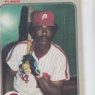 Gary Matthews Trading Card Single 1983 Fleer #165 Phillies