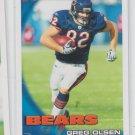 Greg Olsen Trading Card Single 2010 Topps #224 Bears