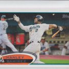 Hanley Ramirez Trading Card Single 2012 Topps #60 Marlins Red Sox