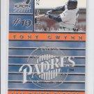 Tony Gwynn 1999 Aurora On Deck Laser Cut  #16 Padres *BILL
