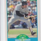 Wade Boggs Trading Card Single 1989 Score #175 Red Sox *BILL