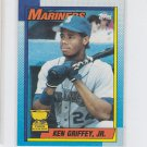 Ken Griffey Jr Trading Card Single 1990 Topps #336 Mariners  *BILL