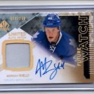 Morgan Rielly RC Auto Patch 1 CLR Limited SP 2013-14 SP Authentic 84/100