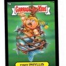 Fishy Phillis Black Parallel 2013 Topps Garbage Pail Kids Mini #111a