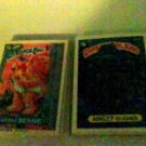 Garbage Pail Kids A Set 1986 Topps Series 8 293A - 334A