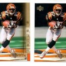 Damon Griffin Trading Card Lot of (2) 2000 Upper Deck Gold Reserve #32 Bengals