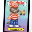 Sheepish Seth Black Parallel SP 2013 Topps Garbage Pail Kids MIni #85a