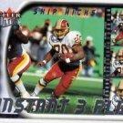 Skip Hicks Instant 3 Play Trading Card 2000 Fleer Ultra #14 Redskins