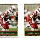 Lorenzo Lynch Trading Card Lot of (2) 1996 Topps #313 Raiders