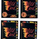 Wild Card #3 Trading Card Lot of (4) 1991 Wild Card Draft #22