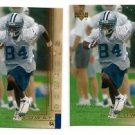 Joey Galloway Trading Card Lot of (2) 2000 UD Gold Reserve #43 Cowboys