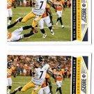 Ben Roethlisberger Trading Card Lot of (2) 2013 Score #165 Steelers
